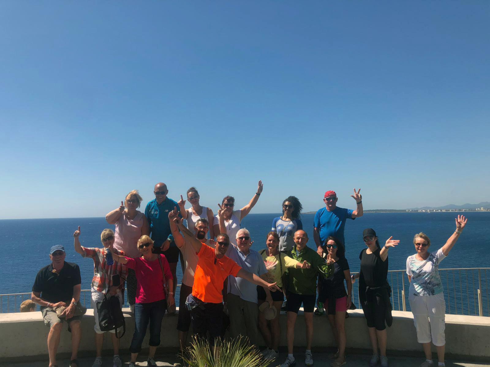 Alquiler de bicicletas Mallorca. Mirador Costa de los Pinos2.IMG
