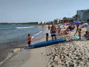 Salida paddel surf en familia.IMG