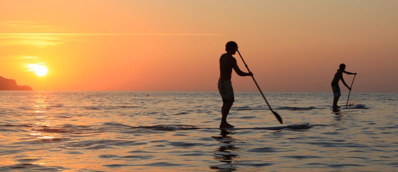 amanecer en paddel surf.IMG