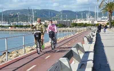 Experiéncia en bicicleta por Palma