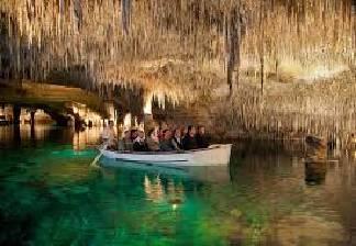 alquiler de bicicletas mallorca- cuevas del drach paseo en barca