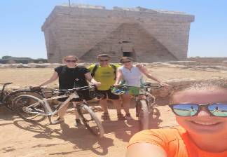 alquiler de bicicletas mallorca-excursión guiada vía verde, son carrió y punta de n'amer-excursión guia
