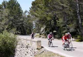 alquiler de bicicletas mallorca-excursiones guiadas por carretera- en grupos