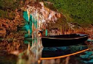 alquiler de bicicletas mallorca-porto cristo cuevas hams barca en lago