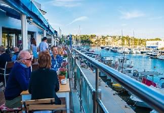 alquiler de bicicletas mallorca-restaurantes en puerto de porto cristo