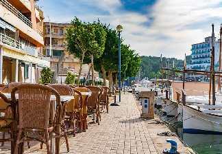 alquiler de bicicletas mallorca- restaurantes porto cristo