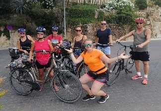 alquiler de bicicletas mallorca-ruta en bicicleta mirador costa de los pinos playa guada