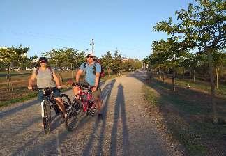 alquiler de bicicletas mallorca- ruta en bicicleta por vía verde en familia