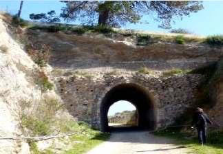 alquiler de bicicletas mallorca- ruta en bicicleta por vía verde tunel